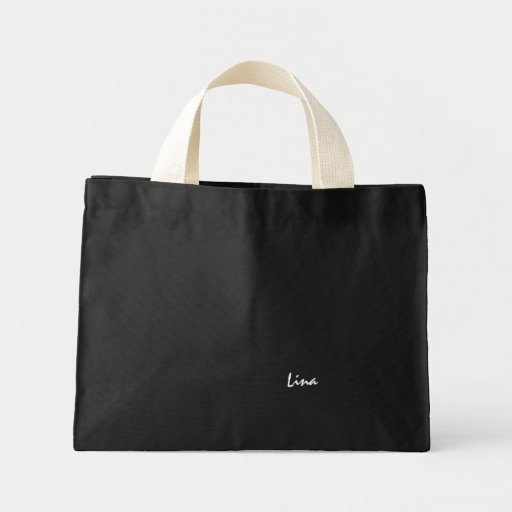 A bolsa de canvas de Lina
