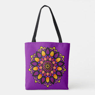 A bolsa de canvas divina de activação da arte da