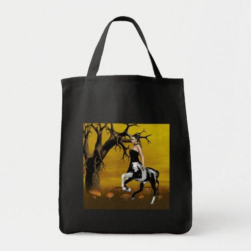 A bolsa de canvas do centauro