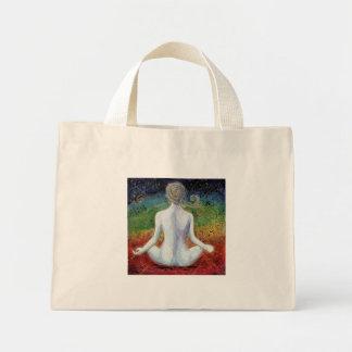 A bolsa de canvas do design de Chakra da energia d