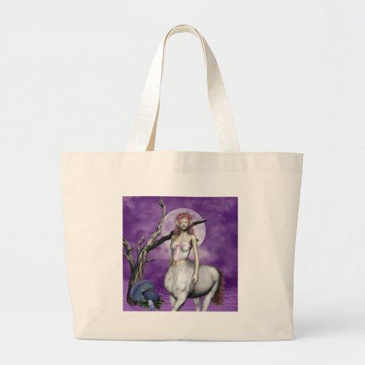 A bolsa de canvas etéreo do centauro
