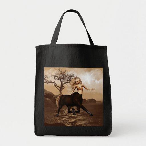 A bolsa de canvas fêmea do centauro