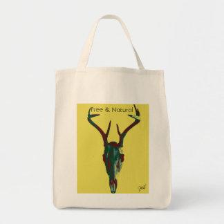 A bolsa de canvas livre e natural dos cervos