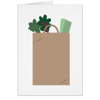 A bolsa de compra cartão comemorativo