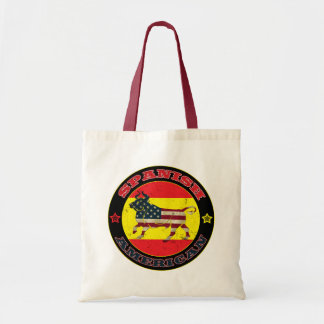 A bolsa de compra espanhola de Bull do americano