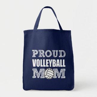 A bolsa de compra orgulhosa da mamã do voleibol