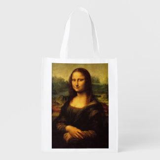 A bolsa de compra reusável de Mona Lisa Sacola Reusável