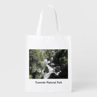 A bolsa de compra reusável do parque nacional de sacola ecológica para supermercado