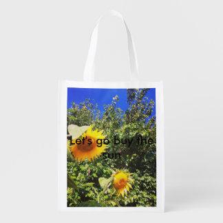 A bolsa de compra reusável sacolas ecológicas