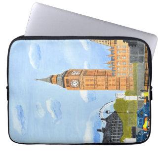 """A bolsa de laptop 13"""" do neopreno de Big Ben Capa Para Computador"""