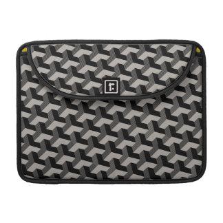a bolsa de laptop 3D impressa geométrica Bolsa Para MacBook