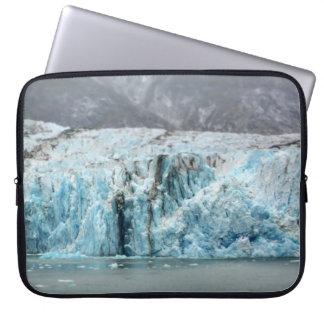 A bolsa de laptop azul longa da geleira sleeve para notebook