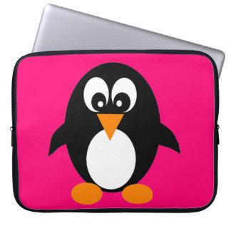 A bolsa de laptop bonito do pinguim bolsas e capas para computadores