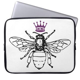 A bolsa de laptop da abelha de rainha capa para laptop