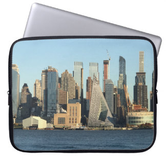 A bolsa de laptop da skyline de NYC Sleeve Para Laptop