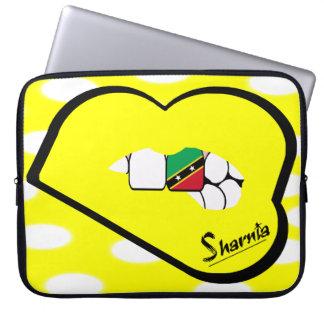 A bolsa de laptop de Kitts da rua dos lábios de Capa Para Computador