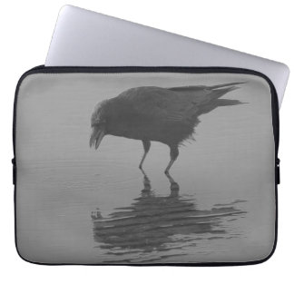 A bolsa de laptop do corvo de Edgar Allan Capas De Computadores Notebooks