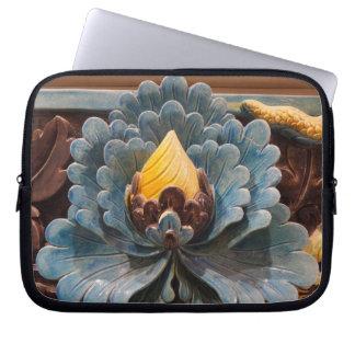 A bolsa de laptop do neopreno da flor de Lotus 10 Capa Para Computador