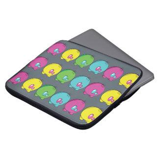 A bolsa de laptop do neopreno de Pogo O.o Bolsa E Capa De Notebook