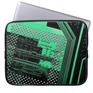 A bolsa de laptop do neopreno do conselho de circu bolsa e capa para computadore