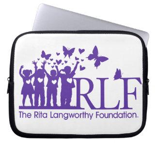 A bolsa de laptop do neopreno do logotipo de RLF Bolsa E Capa De Notebook