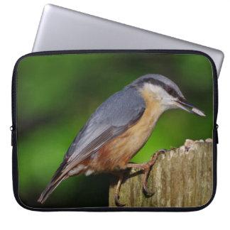 A bolsa de laptop do pica-pau-cinzento sleeve para laptop