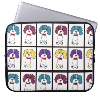 A bolsa de laptop do Spaniel Capa De Notebook