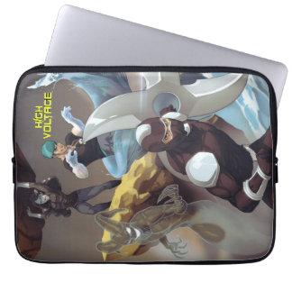A bolsa de laptop dos bandidos capa para notebook