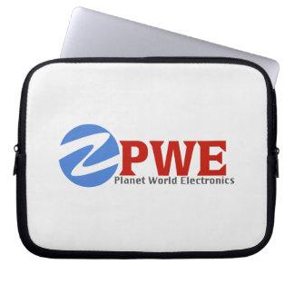 A bolsa de laptop dos eletrônicos do mundo do capa de notebook