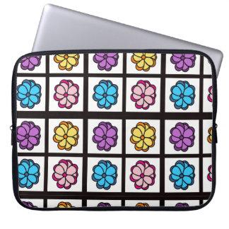 A bolsa de laptop floral capa para laptop