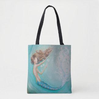 A bolsa de praia do bolsa da sereia da bolha da