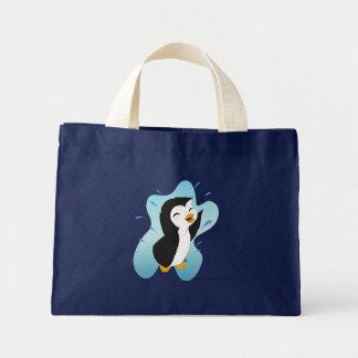 A bolsa de praia do pinguim