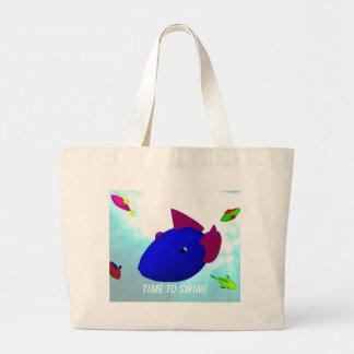 A bolsa de praia dos peixes