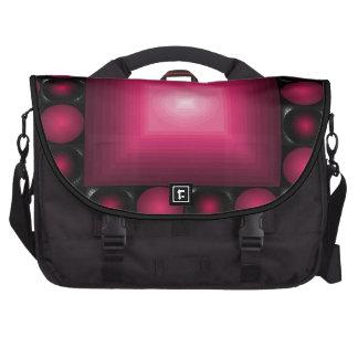 A bolsa mensageiro avermelhada do vermelho do desi bolsa para computador portátil