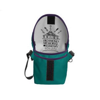 A bolsa mensageiro customizável de Anniv do 90 de