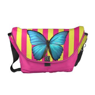 A bolsa mensageiro da borboleta