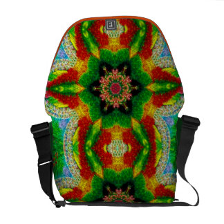 A bolsa mensageiro da mandala do mosaico da bolha