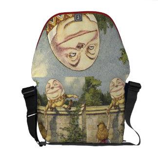 A bolsa mensageiro de Humpty Dumpty