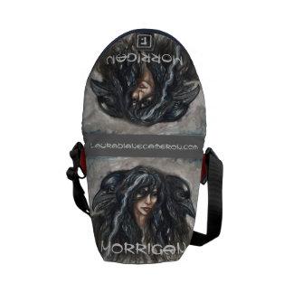A bolsa mensageiro de Morrigan