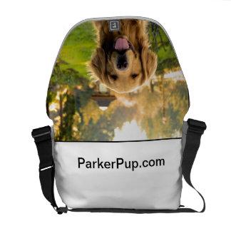 A bolsa mensageiro de ParkerPup