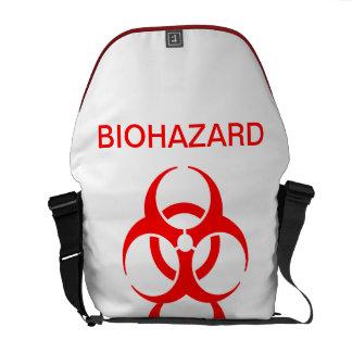 A bolsa mensageiro do Biohazard