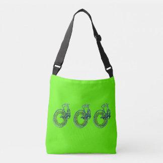 A bolsa mensageiro do bolsa da bicicleta de