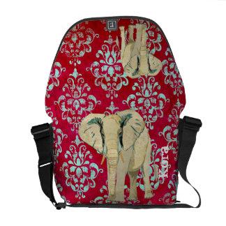 A bolsa mensageiro do elefante branco