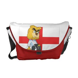 A bolsa mensageiro do futebol de Inglaterra