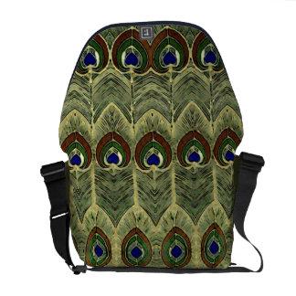 A bolsa mensageiro do pavão