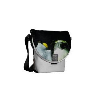 A bolsa mensageiro do pinguim - mini