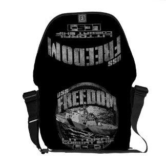 A bolsa mensageiro do rickshaw da liberdade
