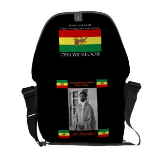A bolsa mensageiro do rickshaw da reggae de Rasta