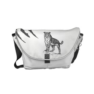 A bolsa mensageiro do tigre pelo design do SGD