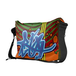 A bolsa mensageiro dos grafites